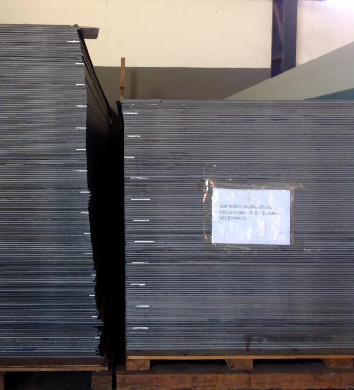 Fábrica de alumínio composto